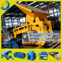 Qingzhou Hengchuan Complete Set 50TPH Dry Gold Mining Machine for Sale