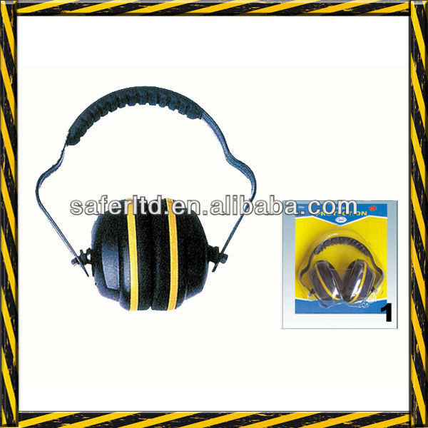 Protective clip ear muff/Noise proof safety ear muff