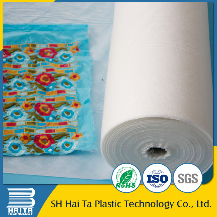 Best quality promotional hot water soluble backing paper for embroidery machine with Quality Assurance
