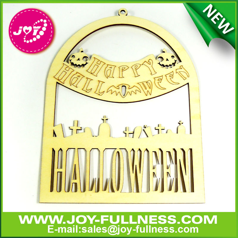 pumpkin halloween theme laser cut wooden art and craft