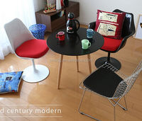 Classical tulip side armless chair Eero saarinen designed living room chair