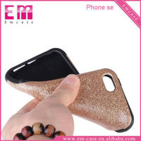 For iPhone5 SE TPU Glitter Quicksand Bling Mobile Phone Case For Apple iPhone5 SE
