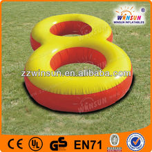 Exciting inflatable water circle,inflatable water games for adults