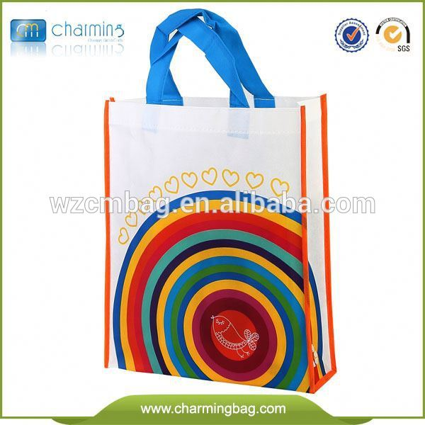 New coming eco-friendly beach using pulley non woven tote bag