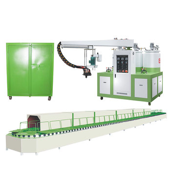 Good sales 2 color 2 density pu injection molding machine