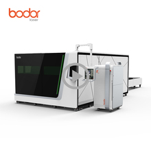 High Power CNC Automatic Fiber Laser Cutting Machine at good price