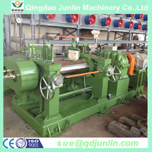 Rubber Plant Using Two Roll Type Open Mixing Mill