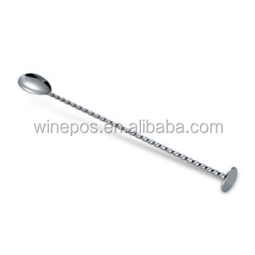 Barware, Bar Spoon Stirrer, Made of Stainless Steel,
