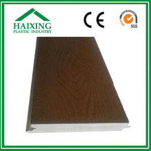 synthetic teak WPC/PVC Decking and Wall Panel without Strew CE,SGS,ani-UV