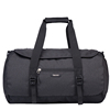 Large Capacity Durable Manufacturing Dance Garment Black Duffel Weekend Travel Bag