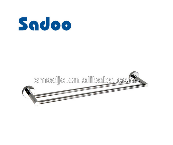 Chrome Brass Bathroom Double Towel Bar for Sale