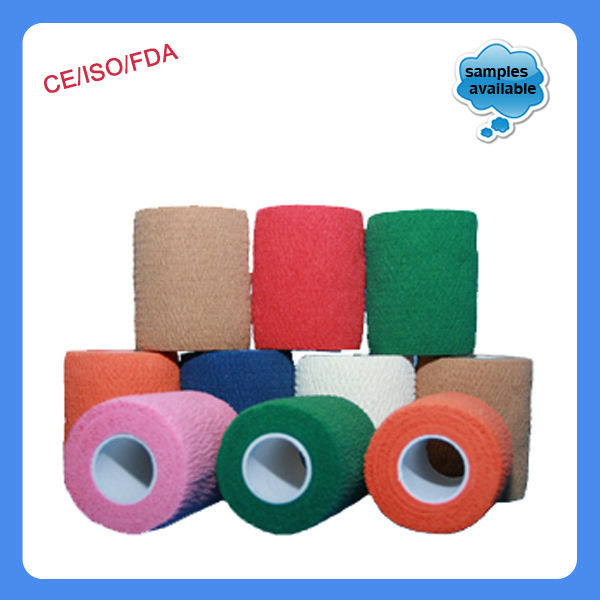 Hospital Application for Coloful Cohesive Bandage!