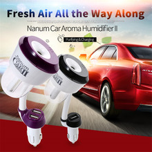Hot selling 50ml aroma car air humidifier/car diffuser