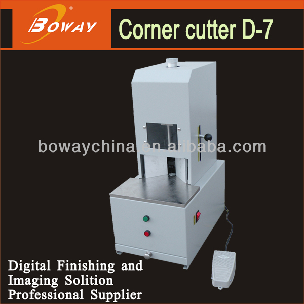 7 knife dies Electric desktop 50mm Paper corner cutter