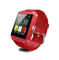 Bluetooth Wrist Smart Phone U8 Watch For IOS Android Samsung iPhone HTC RED