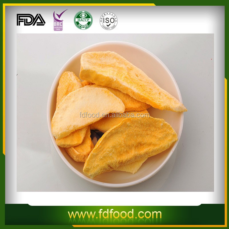 Dried Style and Block Shape Freeze Dried Mango