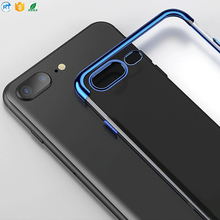 High quality Ultra Slime Transparent tpu Phone Case for iPhone 6 6S Plus