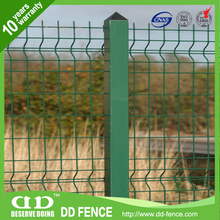 ISO14001 certified gi mesh fencing factory/gardon welded mesh fence/garden welded fold wire mesh fence
