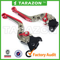 CNC aluminium alloy cnc motorcycle GSXR 600 adjustable sports bike brake clutch lever