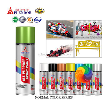 Splendor wholesale graffiti aerosol spray paint