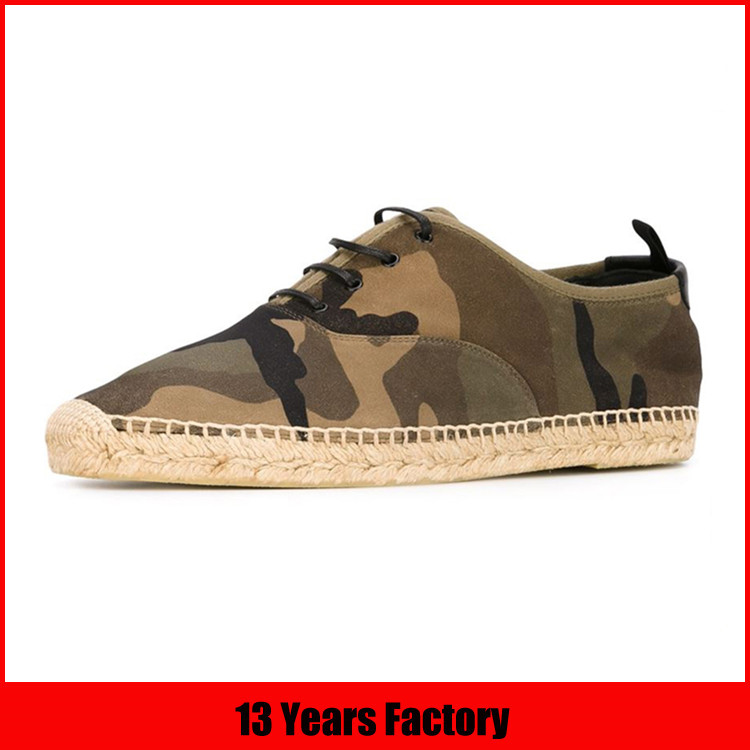 camouflage espadrille men shoes casual