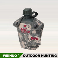 High quality plastic military water bottle