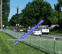 2012 popular and low price hot dipped galvanized traffic warning barrier(factory direct/manufacturer)