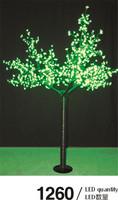 Orange led tree, led japanese cherry blossom tree light led rose gardern light tree