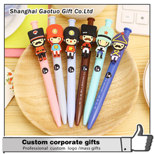 logo print custom cute cartoon ball pen