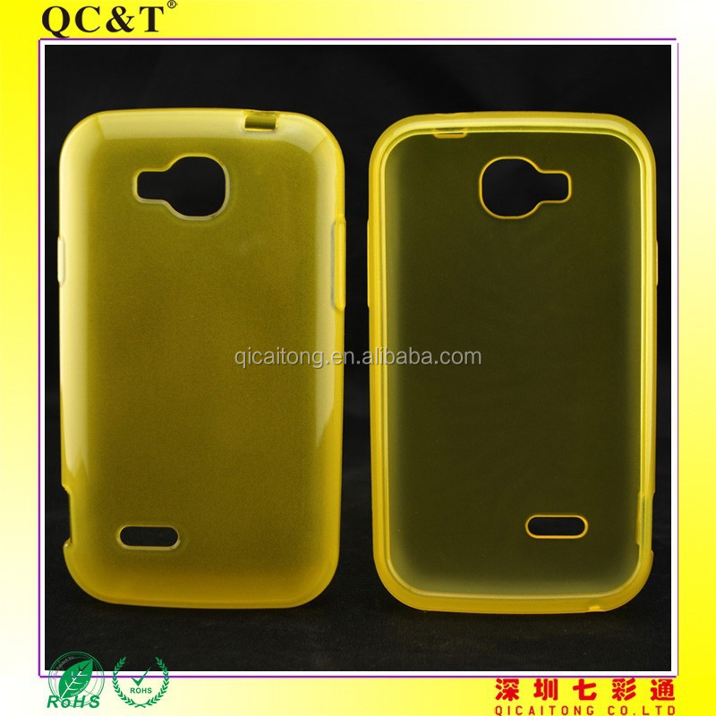 Frosted Matte TPU Cover Clear Transparent Case For NEXTEL V35
