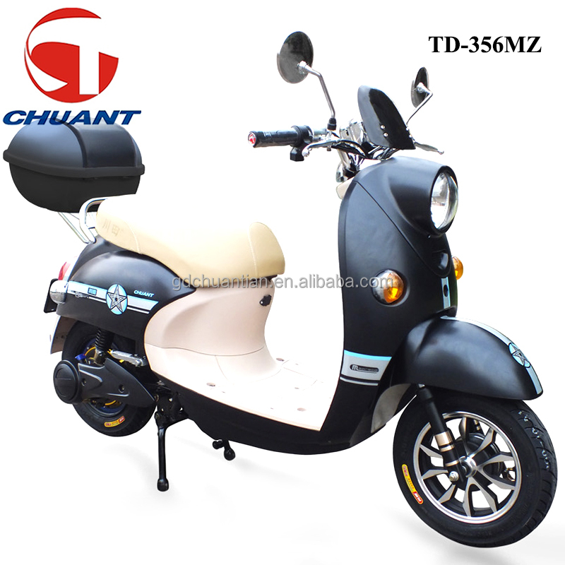 600w electric scooter cheap motorbike with pedals for sales electric motorcycle TD-356MZ