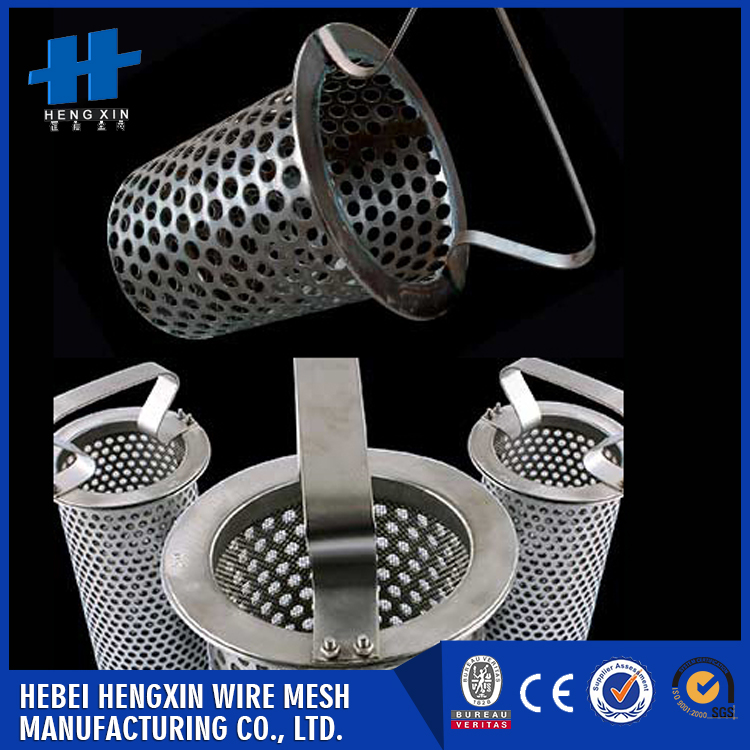 Corrosion resiatance stainless steel mesh screen water filter cartridge