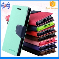 2015 Mercury Goospery Fancy Diary PU Wallet leather flip case cover for xiaomi mi4i m4