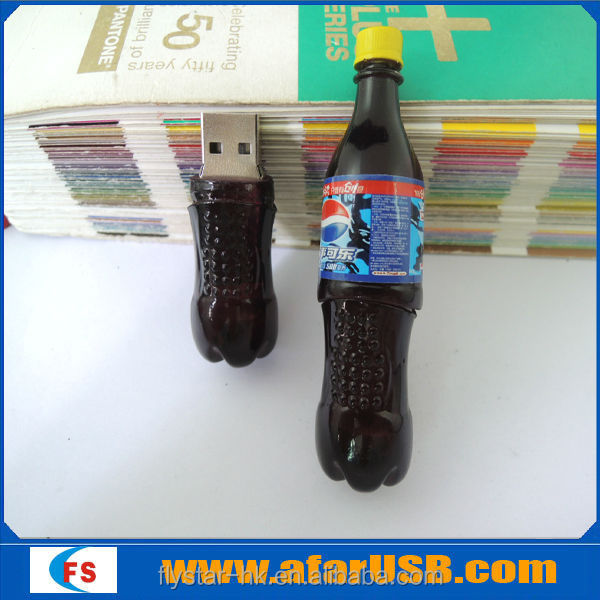 Bulk cheap coke bottle usb flash drive,Coke bottle usb stick128MB-64GB with high quality