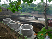 PUXIN mini biogas digester for waste water treatment plant