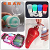 Car Air Freshener Bottle/Popular TSA Cute Silicone Travel Tube Mini Container Holiday