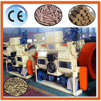 CE approved solon offer top quality soy sauce residue pellet making machine/Biomass fuel pellet production line