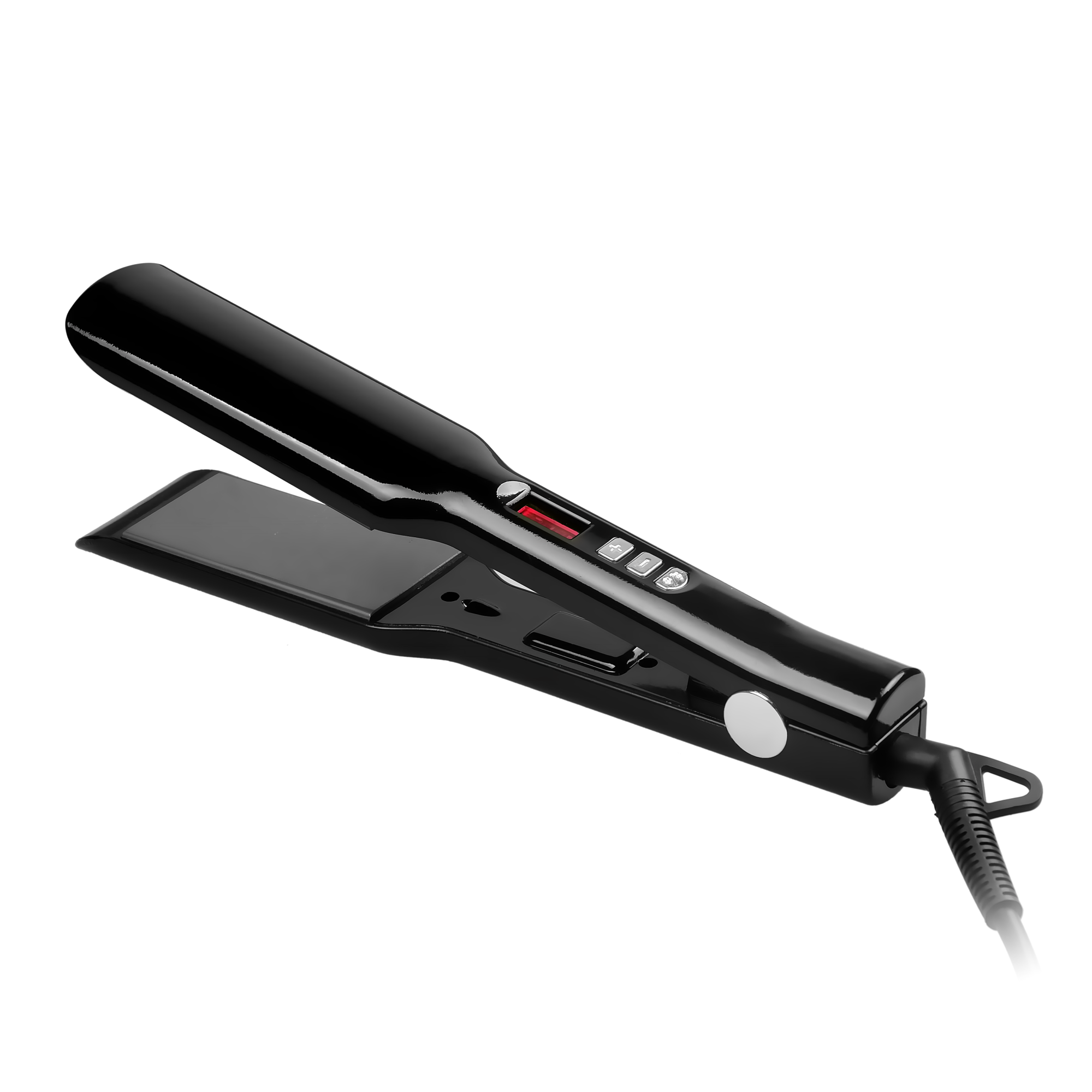 2017 hot selling hair flat iron titanium private label wholesale hair straightener