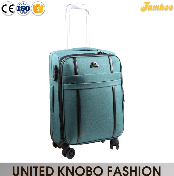 Spinner trolley luggage bag carry on luggage soft Travel bag