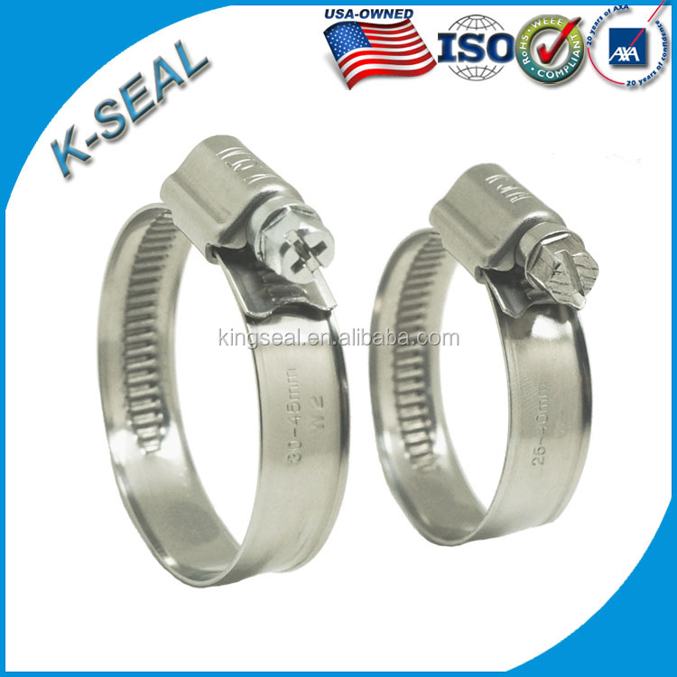 Screw type worm drive hose clamps stainless steel buy