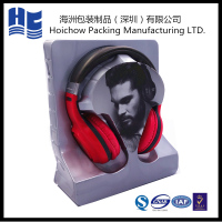 PVC hard blister packaging tray for headphone, insert blister package for earphone