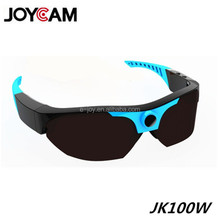 High definition support 1920x1080 full hd 1080p video wireless security camera custom polarized sunglasses