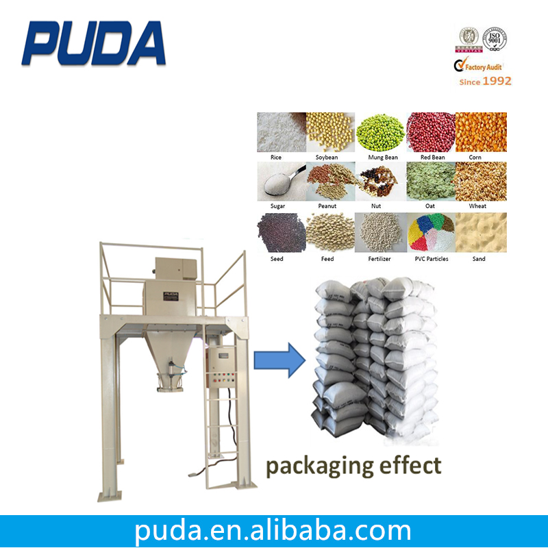Automatic 50kg Rice Bag Packing Filling