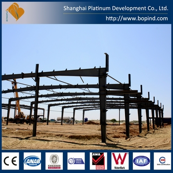 Light Steel Structure Large Span Factory Warehouse Workshops