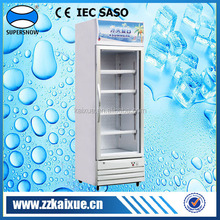 Single door upright beverage cooler
