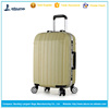 "20"" 24"" aluminium frame cabin PC trolley luggage ABS+PC travel trolley luggage"