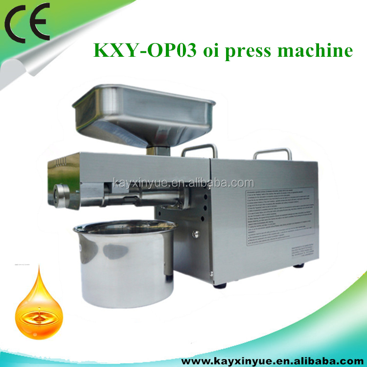 KXY-OP03 High Output Automatic Flax Seed Cold Oil Press Machine