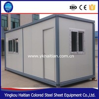 China portable building container house prefab,sandwich panel expandable container house