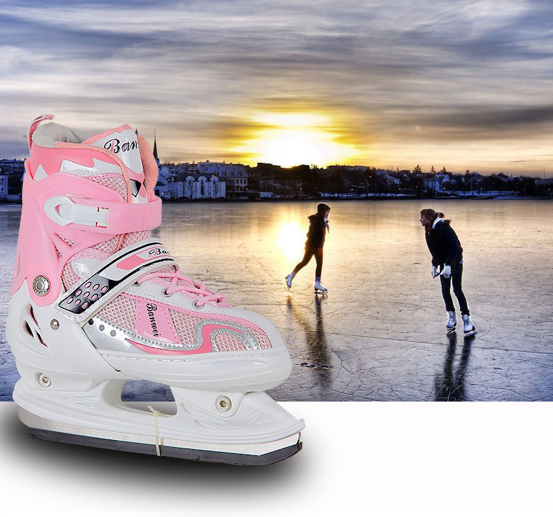Hot sale competitive price high quality alibaba export oem adjustable ice skate