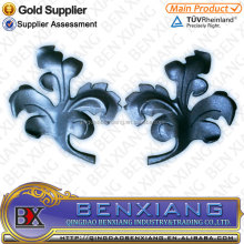 popular wrought iron leaves designs